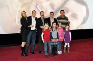 Hochzeitsvideo Kinopremiere im Hollywood Megaplexx mit Oskar Verleihung